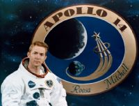NASA Apollo 14 Astronaut Stuart A Roosa Full Colour Portrait